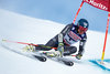 Mathieu Faivre of France in action during his 1st run of men Giant Slalom of the FIS Ski World Championships 2017. St. Moritz, Switzerland on 2017/02/17.