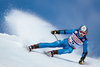 Florian Eisath of Italy in action during his 1st run of men Giant Slalom of the FIS Ski World Championships 2017. St. Moritz, Switzerland on 2017/02/17.