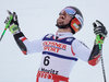 Giant Slalom world Champion and Gold medalist Marcel Hirscher of Austria reacts after his 2nd run of men Giant Slalom of the FIS Ski World Championships 2017. St. Moritz, Switzerland on 2017/02/17.