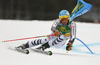 Felix Neureuther of Germany skiing in the first run of the men giant slalom race of the Audi FIS Alpine skiing World cup in Kranjska Gora, Slovenia. Men giant slalom race of the Audi FIS Alpine skiing World cup, was held in Kranjska Gora, Slovenia, on Saturday, 4th of March 2017.