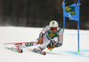 Stefan Luitz of Germany skiing in the first run of the men giant slalom race of the Audi FIS Alpine skiing World cup in Kranjska Gora, Slovenia. Men giant slalom race of the Audi FIS Alpine skiing World cup, was held in Kranjska Gora, Slovenia, on Saturday, 4th of March 2017.