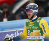 Andre Myhrer of Sweden reacts in finish of the second run of the men giant slalom race of the Audi FIS Alpine skiing World cup in Kranjska Gora, Slovenia. Men giant slalom race of the Audi FIS Alpine skiing World cup, was held in Kranjska Gora, Slovenia, on Saturday, 4th of March 2017.