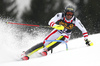 Michael Matt of Austria skiing in the first run of the men slalom race of the Audi FIS Alpine skiing World cup in Kranjska Gora, Slovenia. Men slalom race of the Audi FIS Alpine skiing World cup, was held in Kranjska Gora, Slovenia, on Sunday, 5th of March 2017.