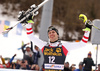 Winner Michael Matt of Austria celebrates his medal won in the men slalom race of the Audi FIS Alpine skiing World cup in Kranjska Gora, Slovenia. Men slalom race of the Audi FIS Alpine skiing World cup, was held in Kranjska Gora, Slovenia, on Sunday, 5th of March 2017.