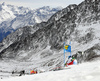 Wendy Holdener of Switzerland skiing in the first run of the women giant slalom opening race of the Audi FIS Alpine skiing World cup in Soelden, Austria. Opening women giant slalom race of the Audi FIS Alpine skiing World cup, was held on Rettenbach glacier above Soelden, Austria, on Saturday, 28th of October 2017.