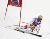 Beat Feuz of Switzerland skiing in the men super-g race of the Audi FIS Alpine skiing World cup in Val Gardena, Italy. Men super-g race of the Audi FIS Alpine skiing World cup, was held on Saslong course in Val Gardena Groeden, Italy, on Friday, 15th of December 2017.