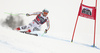 Andreas Sander of Germany skiing in the men super-g race of the Audi FIS Alpine skiing World cup in Val Gardena, Italy. Men super-g race of the Audi FIS Alpine skiing World cup, was held on Saslong course in Val Gardena Groeden, Italy, on Friday, 15th of December 2017.