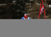 Florian Eisath of Italy skiing in the first run of the men giant slalom race of the Audi FIS Alpine skiing World cup in Alta Badia, Italy. Men giant slalom race of the Audi FIS Alpine skiing World cup, was held on Gran Risa course in Alta Badia, Italy, on Sunday, 17th of December 2017.