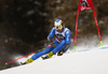 Manfred Moelgg of Italy skiing in the first run of the men giant slalom race of the Audi FIS Alpine skiing World cup in Alta Badia, Italy. Men giant slalom race of the Audi FIS Alpine skiing World cup, was held on Gran Risa course in Alta Badia, Italy, on Sunday, 17th of December 2017.