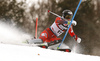 Maren Skjoeld of Norway skiing in the first run of the women Snow Queen Trophy slalom race of the Audi FIS Alpine skiing World cup in Zagreb, Croatia. Women slalom race of the Audi FIS Alpine skiing World cup, was held on Sljeme above Zagreb, Croatia, on Wednesday, 3rd of January 2018.