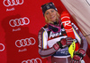 Frida Hansdotter of Sweden celebrates her medal won in the women Snow Queen Trophy slalom race of the Audi FIS Alpine skiing World cup in Zagreb, Croatia. Women slalom race of the Audi FIS Alpine skiing World cup, was held on Sljeme above Zagreb, Croatia, on Wednesday, 3rd of January 2018. <br>