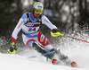 Ramon Zenhaeusern of Switzerland skiing in the first run of the men Snow Queen Trophy slalom race of the Audi FIS Alpine skiing World cup in Zagreb, Croatia. Men slalom race of the Audi FIS Alpine skiing World cup, was held on Sljeme above Zagreb, Croatia, on Thursday, 4th of January 2018.