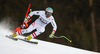 Second placed Vincent Kriechmayr of Austria skiing in men downhill race of the Audi FIS Alpine skiing World cup in Garmisch-Partenkirchen, Germany. Men downhill race of the Audi FIS Alpine skiing World cup was held on Kandahar track in Garmisch-Partenkirchen, Germany, on Saturday, 27th of January 2018.