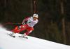 Aleksander Aamodt Kilde of Norway skiing in men downhill race of the Audi FIS Alpine skiing World cup in Garmisch-Partenkirchen, Germany. Men downhill race of the Audi FIS Alpine skiing World cup was held on Kandahar track in Garmisch-Partenkirchen, Germany, on Saturday, 27th of January 2018.