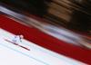 Daniel Danklmaier of Austria skiing in men downhill race of the Audi FIS Alpine skiing World cup in Garmisch-Partenkirchen, Germany. Men downhill race of the Audi FIS Alpine skiing World cup was held on Kandahar track in Garmisch-Partenkirchen, Germany, on Saturday, 27th of January 2018.