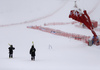 Due to heavy snow, fog and wind men giant slalom race of the Audi FIS Alpine skiing World cup in Soelden, Austria had to be canceled. First men race of the Audi FIS Alpine skiing World cup season 2018-2019 was planned to be held on Rettenbach glacier above Soelden, Austria, on Sunday, 28th of October 2018.