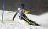 Ylva Staalnacke of Sweden skiing in the first run of the women slalom race of the Audi FIS Alpine skiing World cup Flachau, Austria. Women slalom race of the Audi FIS Alpine skiing World cup season 2018-2019 was held Flachau, Austria, on Tuesday, 8th of January 2019.