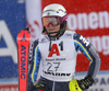 Magdalena Fjaellstroem of Sweden reacts in finish of the second run of the women slalom race of the Audi FIS Alpine skiing World cup Flachau, Austria. Women slalom race of the Audi FIS Alpine skiing World cup season 2018-2019 was held Flachau, Austria, on Tuesday, 8th of January 2019.
