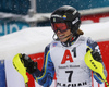 Anna Swenn Larsson of Sweden reacts in finish of the second run of the women slalom race of the Audi FIS Alpine skiing World cup Flachau, Austria. Women slalom race of the Audi FIS Alpine skiing World cup season 2018-2019 was held Flachau, Austria, on Tuesday, 8th of January 2019.