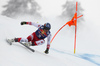 Matthias Mayer of Austria skiing during men downhill race of the Audi FIS Alpine skiing World cup Kitzbuehel, Austria. Men downhill Hahnenkamm race of the Audi FIS Alpine skiing World cup season 2018-2019 was held Kitzbuehel, Austria, on Friday, 25th of January 2019.
