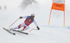 Beat Feuz of Switzerland skiing during men downhill race of the Audi FIS Alpine skiing World cup Kitzbuehel, Austria. Men downhill Hahnenkamm race of the Audi FIS Alpine skiing World cup season 2018-2019 was held Kitzbuehel, Austria, on Friday, 25th of January 2019.
