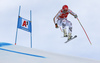 Josef Ferstl of Germany skiing during super-g race of the Audi FIS Alpine skiing World cup Kitzbuehel, Austria. Men super-g Hahnenkamm race of the Audi FIS Alpine skiing World cup season 2018-2019 was held Kitzbuehel, Austria, on Sunday, 27th of January 2019.