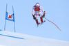 Mauro Caviezel of Switzerland skiing during super-g race of the Audi FIS Alpine skiing World cup Kitzbuehel, Austria. Men super-g Hahnenkamm race of the Audi FIS Alpine skiing World cup season 2018-2019 was held Kitzbuehel, Austria, on Sunday, 27th of January 2019.