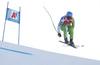Bostjan Kline of Slovenia skiing during super-g race of the Audi FIS Alpine skiing World cup Kitzbuehel, Austria. Men super-g Hahnenkamm race of the Audi FIS Alpine skiing World cup season 2018-2019 was held Kitzbuehel, Austria, on Sunday, 27th of January 2019.