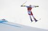 Marco Odermatt of SwitzerlandMarco Odermatt of Switzerland skiing during super-g race of the Audi FIS Alpine skiing World cup Kitzbuehel, Austria. Men super-g Hahnenkamm race of the Audi FIS Alpine skiing World cup season 2018-2019 was held Kitzbuehel, Austria, on Sunday, 27th of January 2019.