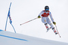 Matteo Marsaglia of Italy skiing during super-g race of the Audi FIS Alpine skiing World cup Kitzbuehel, Austria. Men super-g Hahnenkamm race of the Audi FIS Alpine skiing World cup season 2018-2019 was held Kitzbuehel, Austria, on Sunday, 27th of January 2019.