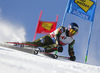 Ted Ligety of USA skiing during the first run of the men giant slalom race of the Audi FIS Alpine skiing World cup in Soelden, Austria. First race of men Audi FIS Alpine skiing World cup season 2019-2020, men giant slalom, was held on Rettenbach glacier above Soelden, Austria, on Sunday, 27th of October 2019.