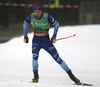 Joni Maeki of Finland skiing during qualifications in men sprint race of FIS Cross country skiing World Cup in Planica, Slovenia. Qualifications for men sprint finals of FIS Cross country skiing World Cup in Planica, Slovenia were held on Saturday, 21st of December 2019 in Planica, Slovenia.