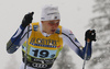 Marcus Grate of Sweden  skiing in finals of men team sprint race of FIS Cross country skiing World Cup in Planica, Slovenia. Finals of men team sprint finals of FIS Cross country skiing World Cup in Planica, Slovenia were held on Sunday, 22nd of December 2019 in Planica, Slovenia.