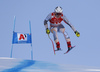 Aleksander Aamodt Kilde of Norway skiing during men super-g race of the Audi FIS Alpine skiing World cup in Kitzbuehel, Austria. Men super-g race of Audi FIS Alpine skiing World cup 2019-2020, was held on Streif in Kitzbuehel, Austria, on Friday, 24th of January 2020.