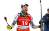 Winner Kjetil Jansrud of Norway celebrate their medals won in the men super-g race of the Audi FIS Alpine skiing World cup in Kitzbuehel, Austria. Men super-g race of Audi FIS Alpine skiing World cup 2019-2020, was held on Streif in Kitzbuehel, Austria, on Friday, 24th of January 2020.