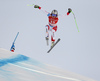 Ralph Weber of Switzerland skiing during men super-g race of the Audi FIS Alpine skiing World cup in Kitzbuehel, Austria. Men super-g race of Audi FIS Alpine skiing World cup 2019-2020, was held on Streif in Kitzbuehel, Austria, on Friday, 24th of January 2020.