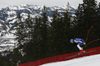 Klemen Kosi of Slovenia skiing during men downhill race of the Audi FIS Alpine skiing World cup in Kitzbuehel, Austria. Men downhill race of Audi FIS Alpine skiing World cup 2019-2020, was held on Streif in Kitzbuehel, Austria, on Saturday, 25th of January 2020.