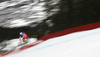 Johannes Kroell of Austria skiing during men downhill race of the Audi FIS Alpine skiing World cup in Kitzbuehel, Austria. Men downhill race of Audi FIS Alpine skiing World cup 2019-2020, was held on Streif in Kitzbuehel, Austria, on Saturday, 25th of January 2020.