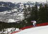 Thomas Dressen of Germany skiing during men downhill race of the Audi FIS Alpine skiing World cup in Kitzbuehel, Austria. Men downhill race of Audi FIS Alpine skiing World cup 2019-2020, was held on Streif in Kitzbuehel, Austria, on Saturday, 25th of January 2020.