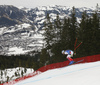 Matthieu Bailet of France skiing during men downhill race of the Audi FIS Alpine skiing World cup in Kitzbuehel, Austria. Men downhill race of Audi FIS Alpine skiing World cup 2019-2020, was held on Streif in Kitzbuehel, Austria, on Saturday, 25th of January 2020.