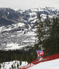 Matthias Mayer of Austria skiing during men downhill race of the Audi FIS Alpine skiing World cup in Kitzbuehel, Austria. Men downhill race of Audi FIS Alpine skiing World cup 2019-2020, was held on Streif in Kitzbuehel, Austria, on Saturday, 25th of January 2020.