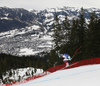 Maxence Muzaton of France skiing during men downhill race of the Audi FIS Alpine skiing World cup in Kitzbuehel, Austria. Men downhill race of Audi FIS Alpine skiing World cup 2019-2020, was held on Streif in Kitzbuehel, Austria, on Saturday, 25th of January 2020.
