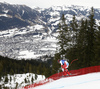 Mauro Caviezel of Switzerland skiing during men downhill race of the Audi FIS Alpine skiing World cup in Kitzbuehel, Austria. Men downhill race of Audi FIS Alpine skiing World cup 2019-2020, was held on Streif in Kitzbuehel, Austria, on Saturday, 25th of January 2020.