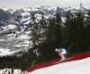 Dominik Schwaiger of Germany skiing during men downhill race of the Audi FIS Alpine skiing World cup in Kitzbuehel, Austria. Men downhill race of Audi FIS Alpine skiing World cup 2019-2020, was held on Streif in Kitzbuehel, Austria, on Saturday, 25th of January 2020.