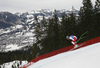 Ralph Weber of Switzerland skiing during men downhill race of the Audi FIS Alpine skiing World cup in Kitzbuehel, Austria. Men downhill race of Audi FIS Alpine skiing World cup 2019-2020, was held on Streif in Kitzbuehel, Austria, on Saturday, 25th of January 2020.