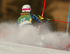 Magdalena Fjaellstroem of Sweden skiing during first run of the women slalom race of the Audi FIS Alpine skiing World cup in Kranjska Gora, Slovenia. Women Golden Fox trophy slalom race of Audi FIS Alpine skiing World cup 2019-2020, was transferred from Maribor to Kranjska Gora, Slovenia, and was held on Sunday, 16th of February 2020.