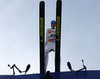 Third placed Peter Prevc of Slovenia takes off during Viessmann FIS ski jumping World cup in Planica, Slovenia. Race of Viessmann FIS ski jumping World cup 2013-2014 was held on Friday, 21st of March 2014 on HS139 ski jumping hill in Planica, Slovenia.