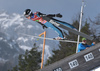 Gabriel Karlen of Switzerland during ski flying team competition of the FIS ski jumping World cup in Planica, Slovenia. Ski flying team competition of FIS Ski jumping World cup in Planica, Slovenia, was held on Saturday, 25th of March 2017.
