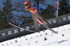 Laura Asikainen of Finland during ski flying team competition of the FIS ski jumping World cup in Planica, Slovenia. Ski flying team competition of FIS Ski jumping World cup in Planica, Slovenia, was held on Saturday, 25th of March 2017.