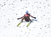 Kamil Stoch of Poland during ski flying team competition of the FIS ski jumping World cup in Planica, Slovenia. Ski flying team competition of FIS Ski jumping World cup in Planica, Slovenia, was held on Saturday, 25th of March 2017.